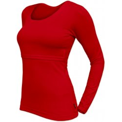 Jozanek Breastfeeding T-shirt Catherine long sleeved - red