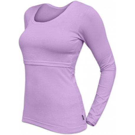 Jozanek Breastfeeding T-shirt Catherine long sleeved - lavender