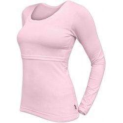Jozanek Breastfeeding T-shirt Catherine long sleeved - light rose