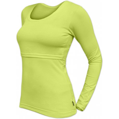 Jozanek Breastfeeding T-shirt Catherine long sleeved - light green
