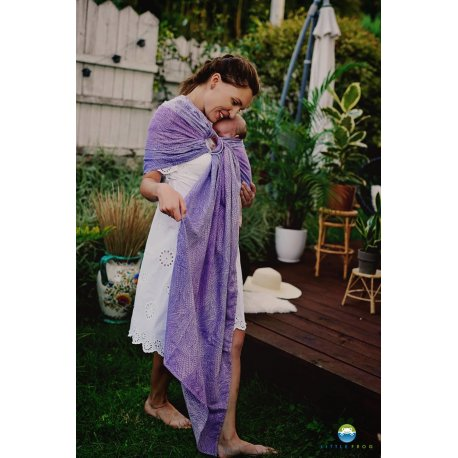 Little Frog Ring Sling Lilac Wildness