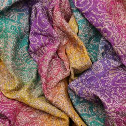 Yaro Ava Trinity Sienna Rainbow Wool
