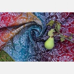 Yaro Ring Sling Ava Trinity Sepia Rainbow