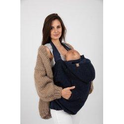 Nije babywearing cover Woolen Niječko - Dark Blue