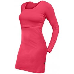 Jozanek Breastfeeding Dress - long sleeves - Elena - salmon rose