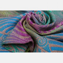 Yaro Ring Sling Dandy Trinity Ara Rainbow High Wool