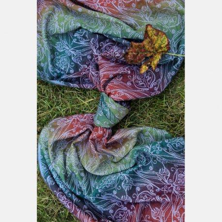 Yaro Elvish Trinity Tawny Rainbow Wool