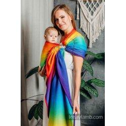 LennyLamb ring sling Rainbow Baby