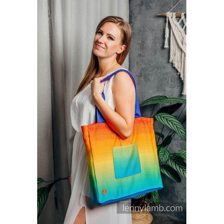 LennyLamb Shoulder Bag - Rainbow Baby