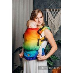 LennyLamb LennyUpGrade adjustable ergonomic carrier - Rainbow Baby