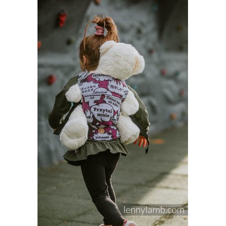 LennyLamb Doll Carrier Hug Me - Pink