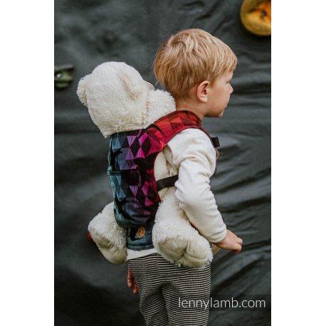 LennyLamb Doll Carrier Swallows Rainbow Dark