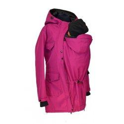 Shara babywearing coat - spring/autumn - fuchsia