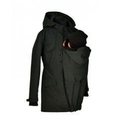 Shara babywearing coat - spring/autumn - black