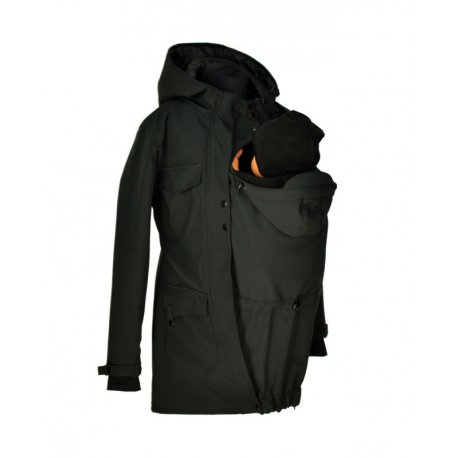 Shara babywearing coat - spring/autumn - black