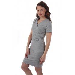 Jozanek Breastfeeding Dress - long sleeves - Elena - turquoise