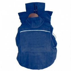 "Hoppediz Fleece cover ""Basic"" - marine"