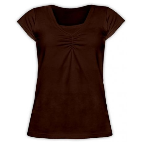 Jozanek Breastfeeding T-shirt Catherine short sleeved - red