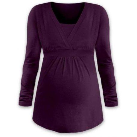 Jozanek Breastfeeding T-shirt Catherine short sleeved - red
