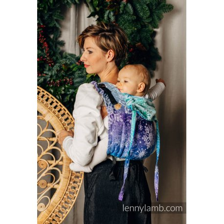 LennyLamb Onbuhimo back carrier - Snow Queen - Crystal