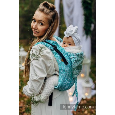 LennyLamb Onbuhimo back carrier - Woodland - Frost