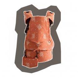 GoBimbi Adjustable ergonomic babycarrier APES cinnamon