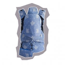 GoBimbi Adjustable ergonomic babycarrier APES cobalt