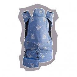 GoBimbi Adjustable ergonomic babycarrier APES cobalt