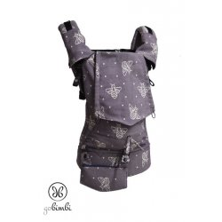 GoBimbi Adjustable ergonomic babycarrier APES Amethyst