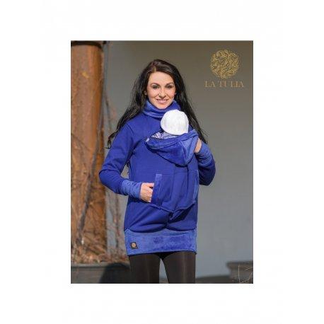 La Tulia babywearing sweatshirt - Sapphire Blue