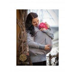 La Tulia babywearing sweatshirt - Silver Sand