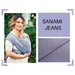 Aloe babycarrier - TWO - ŠaNaMi - Jeans