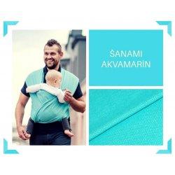 Aloe babycarrier - TWO - ŠaNaMi - Aquamarine