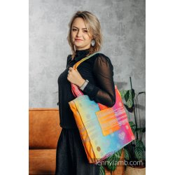 LennyLamb Shoulder Bag - Rainbow Lace Silver
