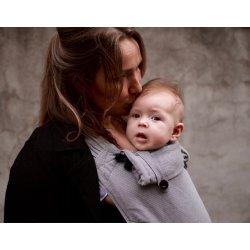 Pure Baby Love Ergonomic babycarrier Wrap & Go Dark Grey