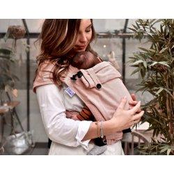 Pure Baby Love Ergonomic babycarrier Wrap & Go Rust