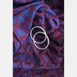 Yaro Ring Sling La Fleur Duo Fuchsia Blue Meta Wool