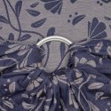 Fidella ring sling Floral Touch - eclipse blue