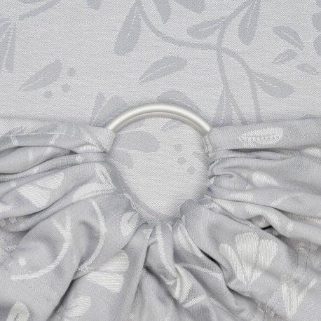 Fidella ring sling Floral Touch - lunar grey