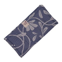 Fidella Drool Pads - Floral Touch - eclipse blue