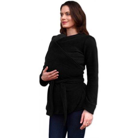 Loktu She babywearing sweater merino - light grey