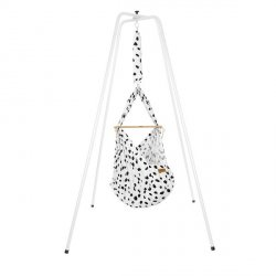 NONOMO Swinging Hammock-Set Baby Classic with Polyester Mattress and Stand -basic-