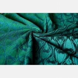 Yaro Ring Sling La Fleur Duo Black Green Blue Meta