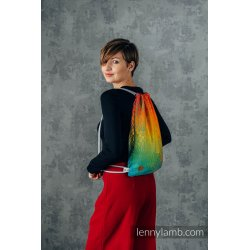 LennyLamb Bag SackPack Rainbow Lotus