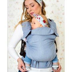 MoniLu ergonomic babycarrier UNI START Simply Blue