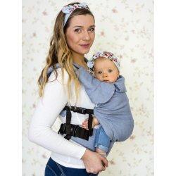MoniLu ergonomic babycarrier UNI (Adjustable) Simply Blue