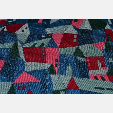 Yaro Ring Sling Hallstatt Spongy Red Green Blue Modal