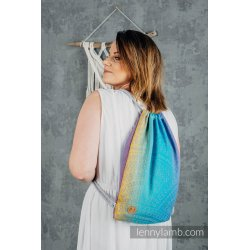 LennyLamb Bag SackPack Peacock's Tail - Sunset
