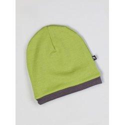 Duomamas Hood - merino - grey green