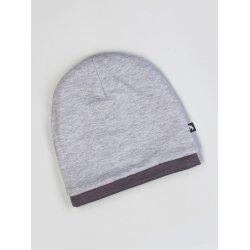 Duomamas Hood - merino-cotton - grey melange